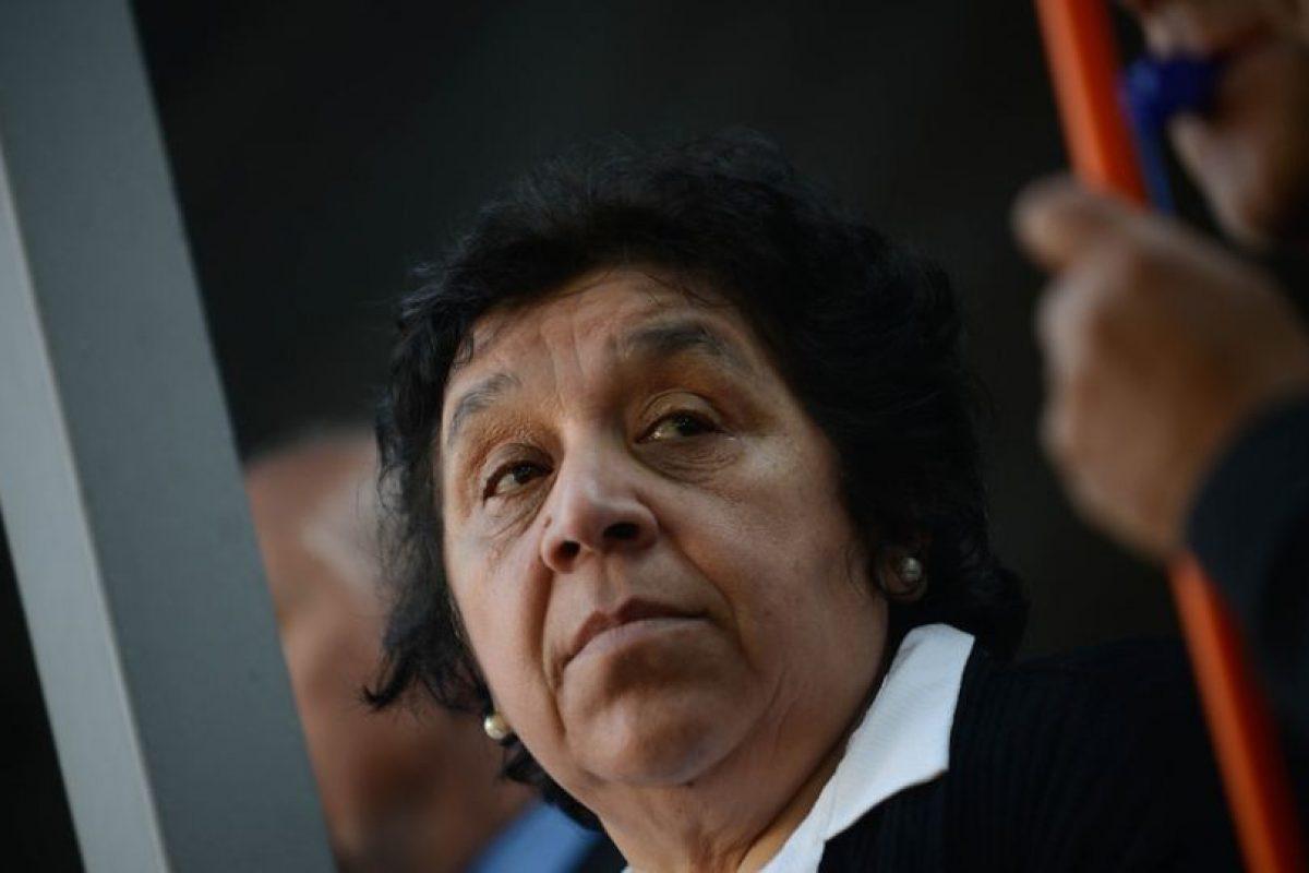 Nelly Díaz, vocera de los trabajadores Foto:Agencia Uno. Imagen Por: