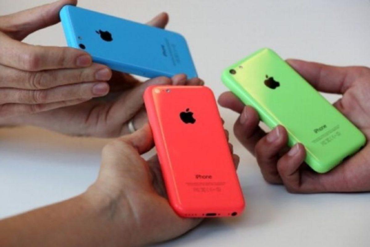 iPhone 5c (2013). Foto:Getty Images. Imagen Por: