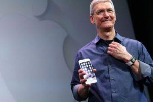 Tim Cook presentó el iPhone 6 y iPhone 6 Plus el 9 de septiembre de 2014. Foto:Getty Images. Imagen Por: