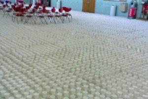 Miles de vasos. Foto:vía Prankked. Imagen Por: