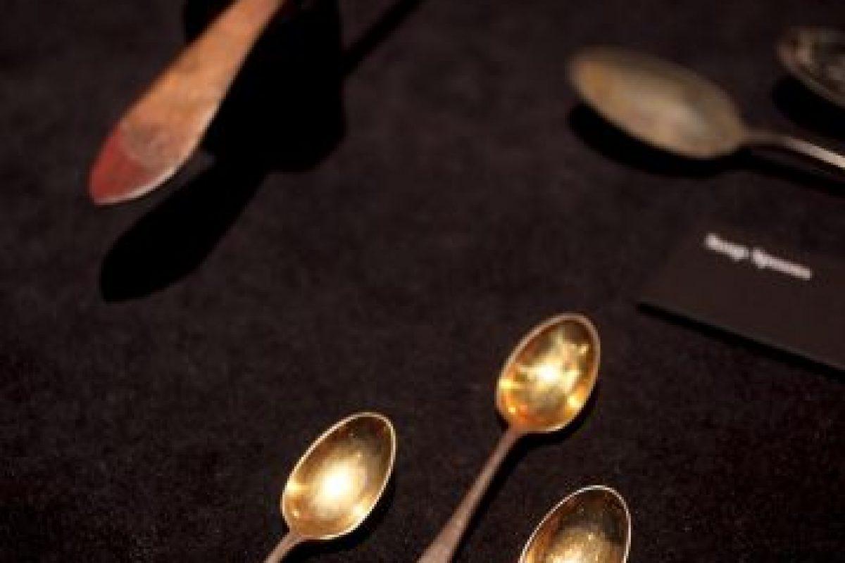 En las exhibiciones se puede apreciar los lujosos cubiertos con los que comían Foto:Getty Images. Imagen Por: