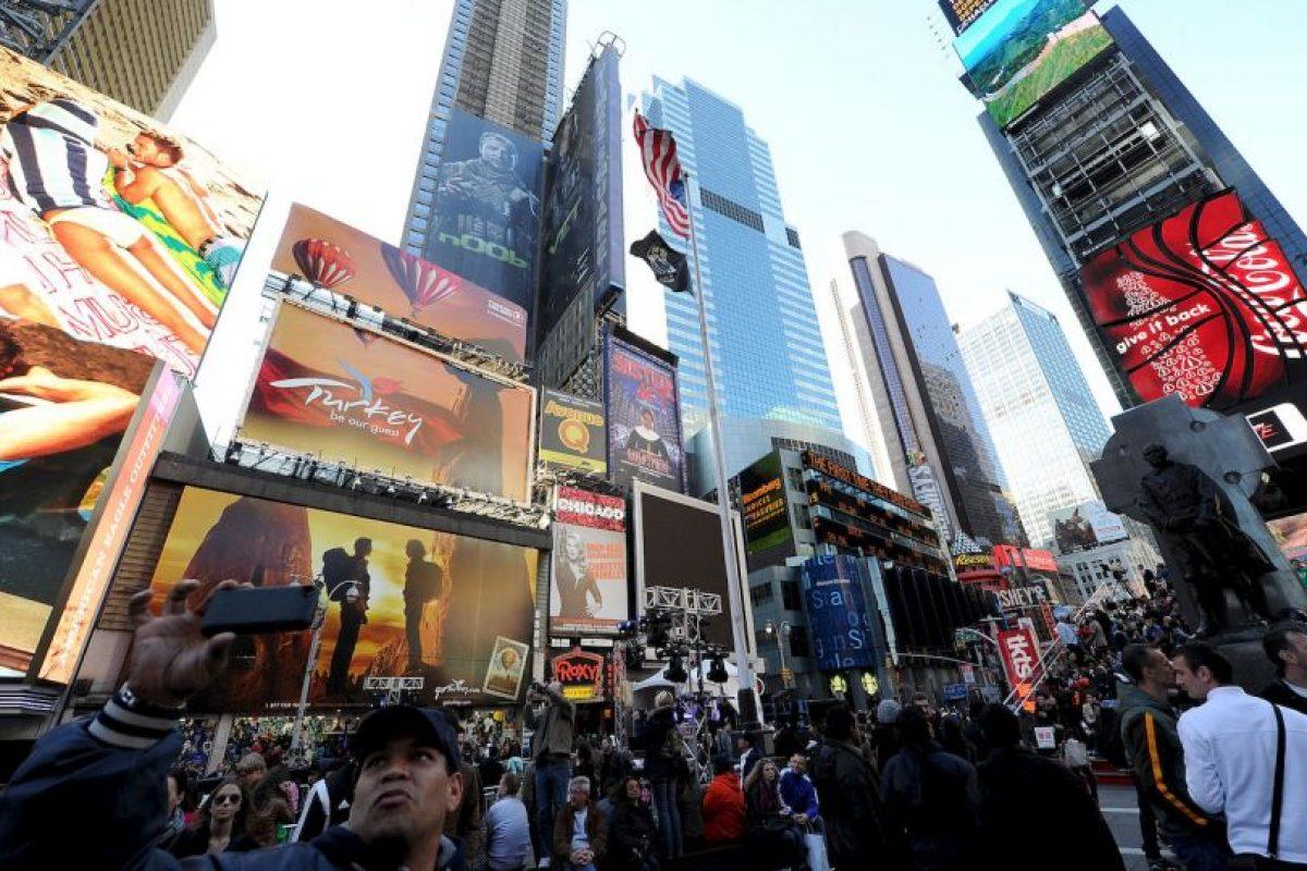 3. Una pantalla para publicidad en la calle Foto:Getty Images. Imagen Por: