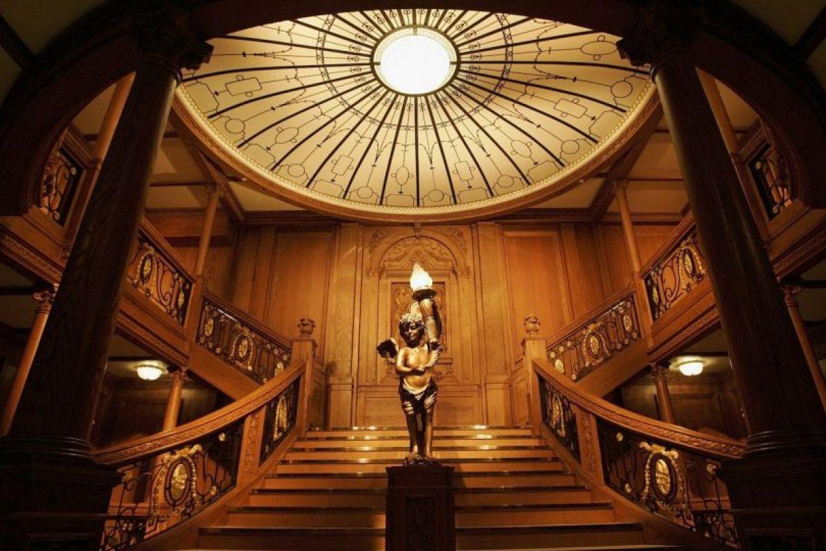 Hay reproducciones de los interiores del barco Foto:Getty Images. Imagen Por:
