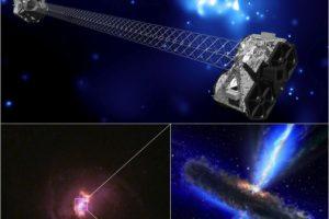 Así luce el telescopio Nuclear Spectroscopic Telescope Array (NuSTAR), que ayuda al análisis de los rayos X Foto:Vía nasa.gov. Imagen Por: