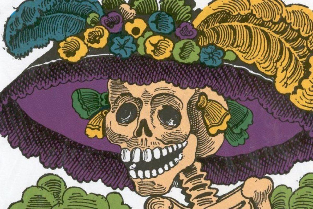 """""""La Catrina"""" es una figura cultural mexicana creada en 1910 por José Guadalupe Posada. Foto:vía Wikipedia. Imagen Por:"""