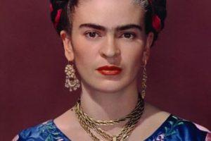Frida Kahlo. Foto:vía Vogue París. Imagen Por: