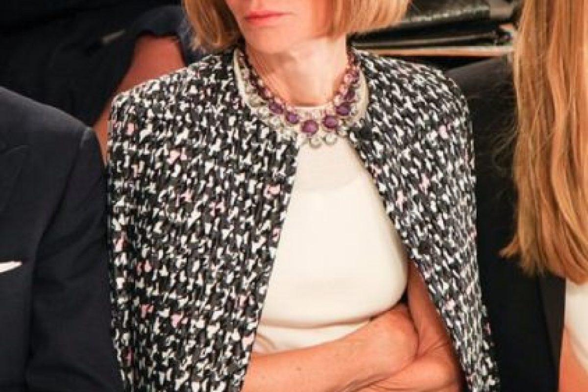 La editora en jefe de Vogue es también muy copiada y seguida. Foto:vía Getty Images. Imagen Por: