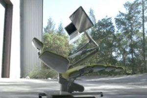 Este sillón inteligente es adaptable. Foto:Vía Youtube/AltWork. Imagen Por: