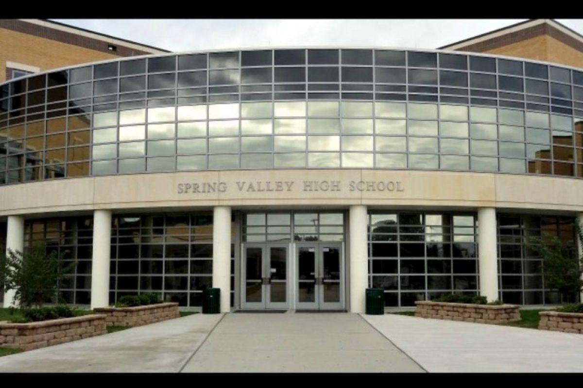 Todo ocurrió en las instalaciones de la escuela Spring Valley High School en Estados Unidos. Foto:Vía facebook.com/springvalleyvikings. Imagen Por: