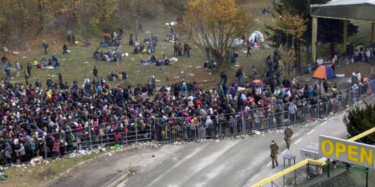 Austria levantará una valla en la frontera con Eslovenia para frenar a los refugiados