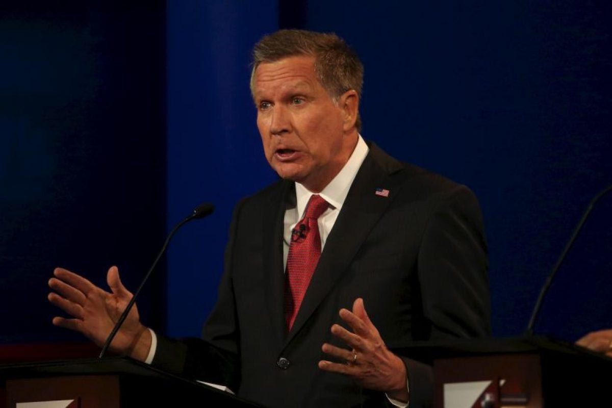 Y el político John Kasich Foto:AFP. Imagen Por: