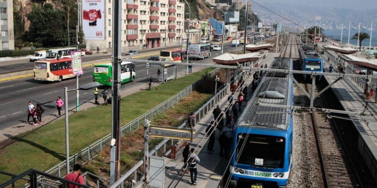 Suspenden servicio de Metro de Valparaíso tras accidente