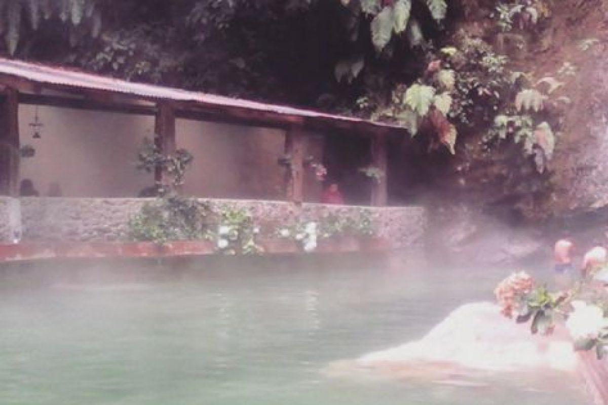 2- Las aguas termales Georginas están en el departamento de Quetzaltenango. Foto:instagram.com/sucely_osorio. Imagen Por:
