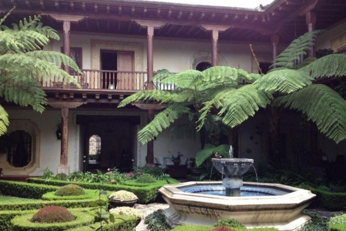 4- El Palacio de Doña Leonor en La Antigua Guatemala. Foto:twitter.com/scanizo. Imagen Por: