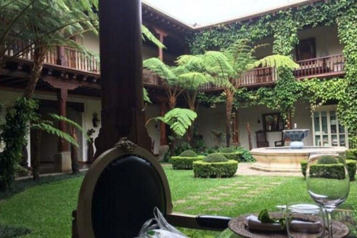 Aunque ahora es un hotel, se trata de una mansión construida entre 1541 y 1543 la cual sirvio de residencia de Doña Leonor, la hija del conquistador Español don Pedro de Alvarado y la Princesa India Tlaxcala llamada Tecuilhuatzin, Doña Luisa. Foto:twitter.com/Aletsandros. Imagen Por: