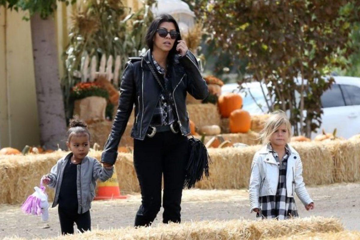 Pero el festejo no inició de la mejor forma para la hija de Kim Kardashian Foto:Grosby Group. Imagen Por: