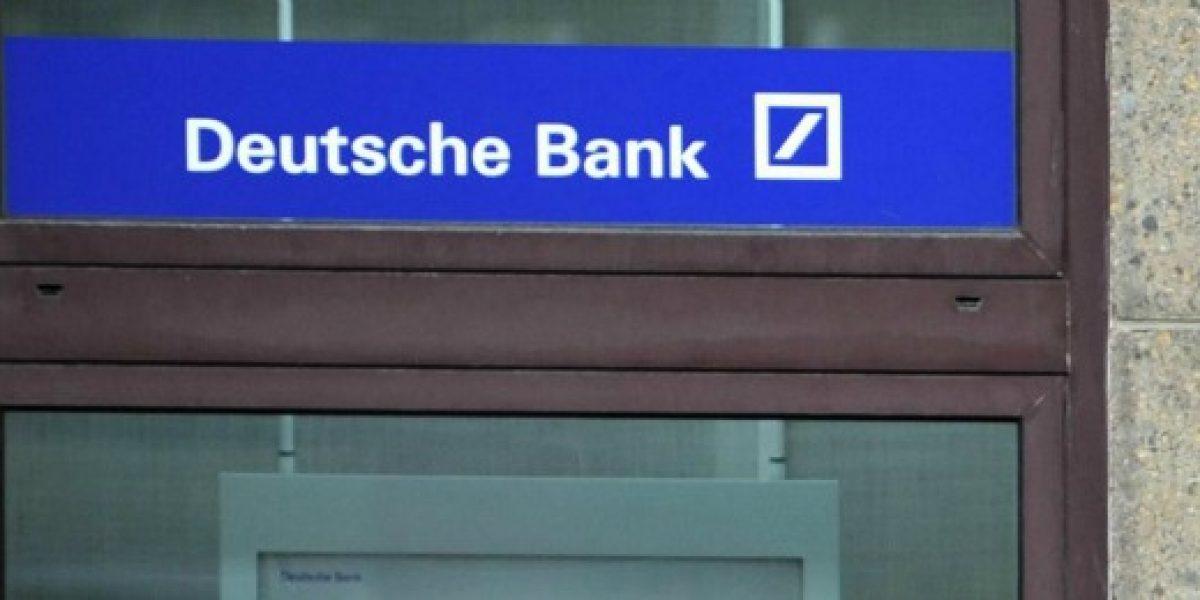 Deutsche Bank cierra filial en Chile