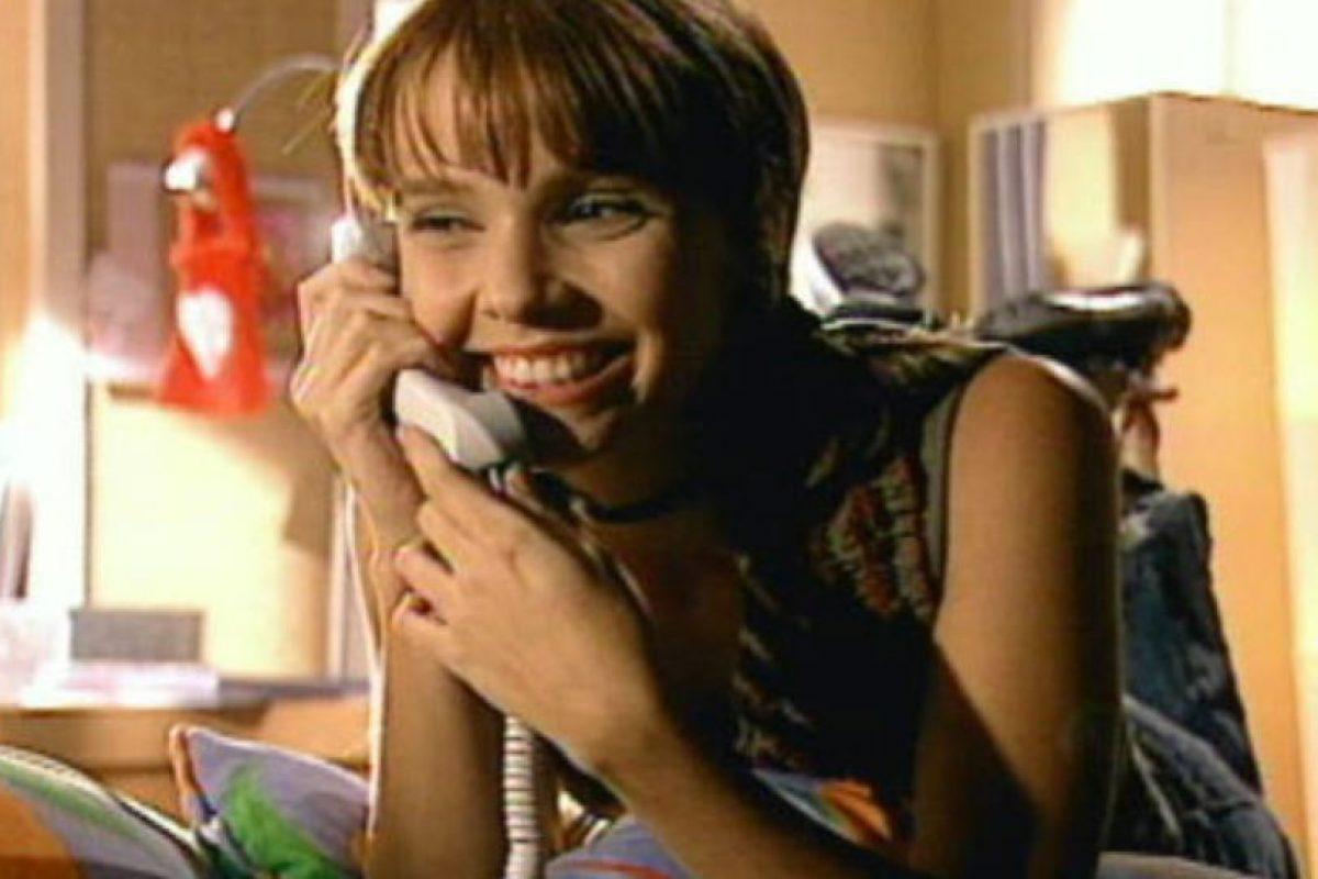 """Ella era """"Mel"""", una problemática adolescente.. Imagen Por:"""