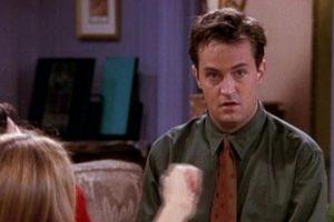 """Probablemente más conocido Chandler Bing de la serie """"Friends"""" Foto:Vía NBC. Imagen Por:"""