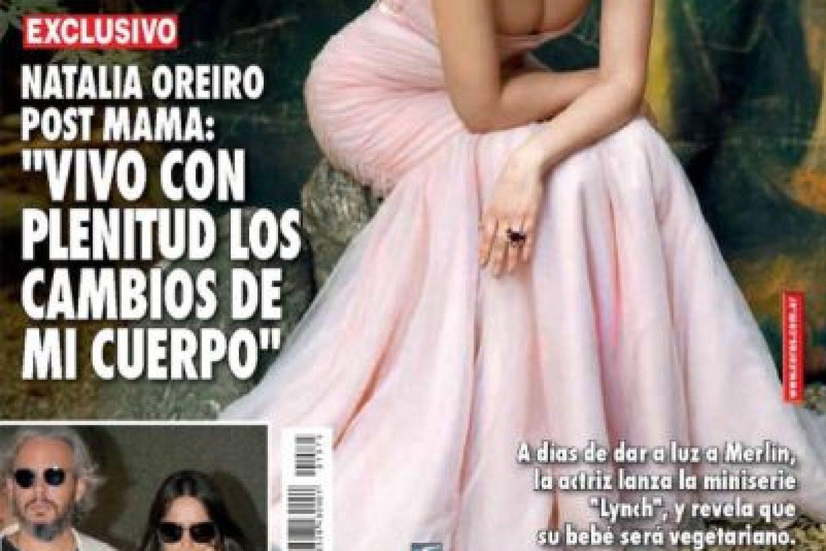 """También estuvo en """"Solamente Vos"""" y """"Wakolda"""". Foto:vía Twitter/Natalia Oreiro. Imagen Por:"""