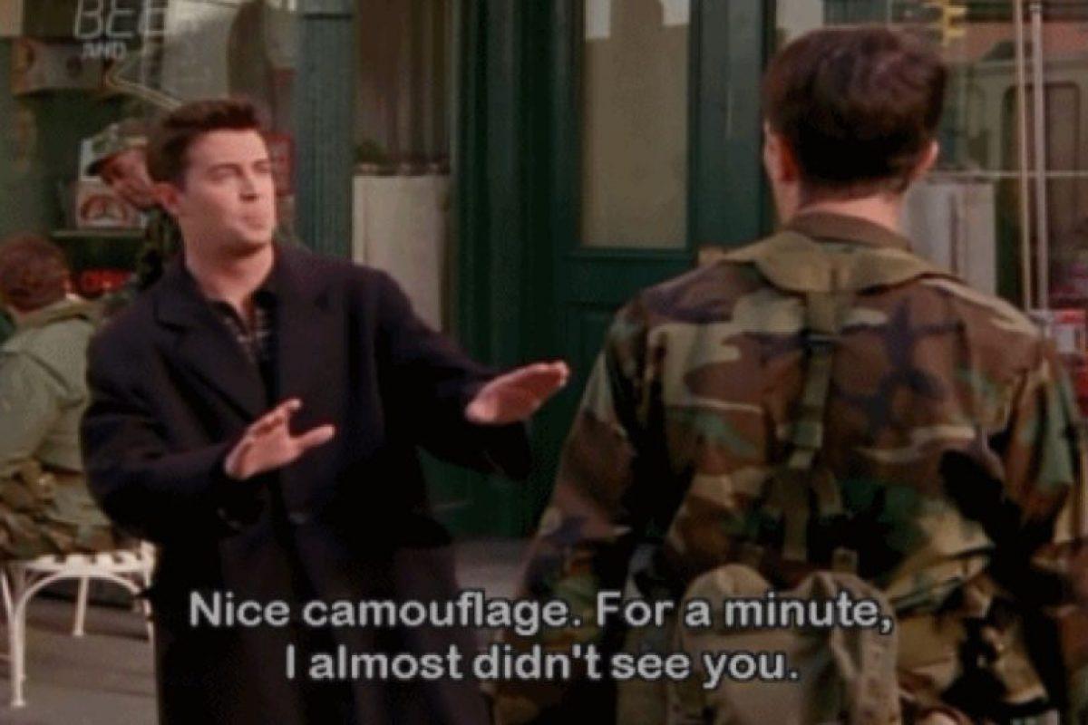 El del sarcasmo en la serie Foto:Vía NBC. Imagen Por: