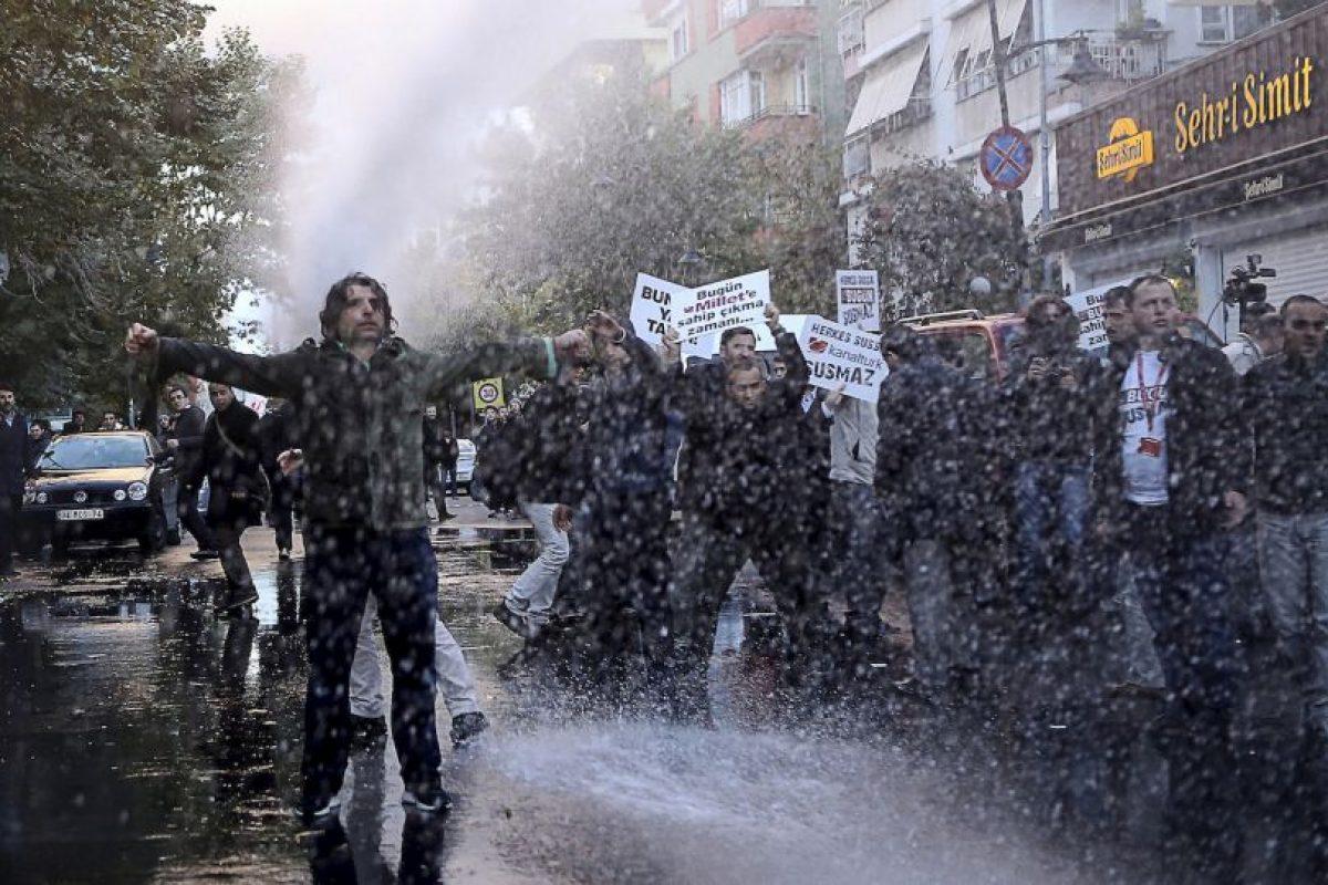 Protesta en Turquía. Foto:AFP. Imagen Por: