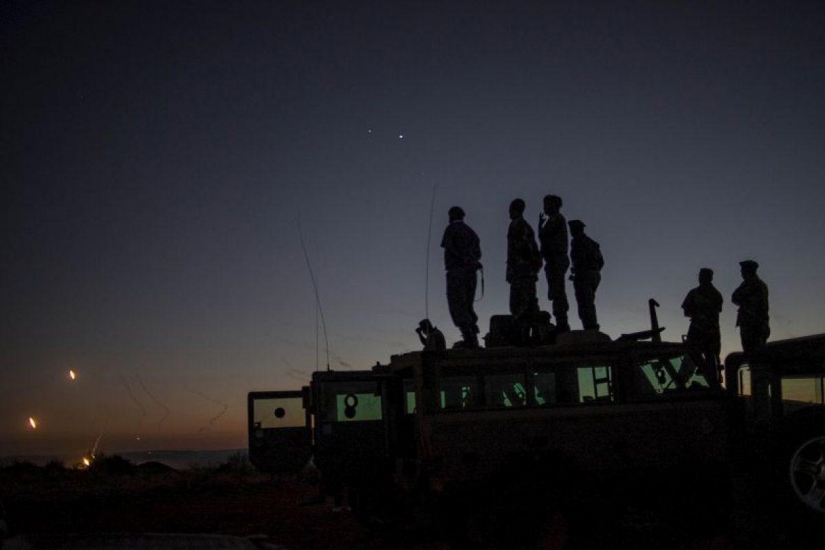 Soldados en Sudáfrica. Foto:AFP. Imagen Por: