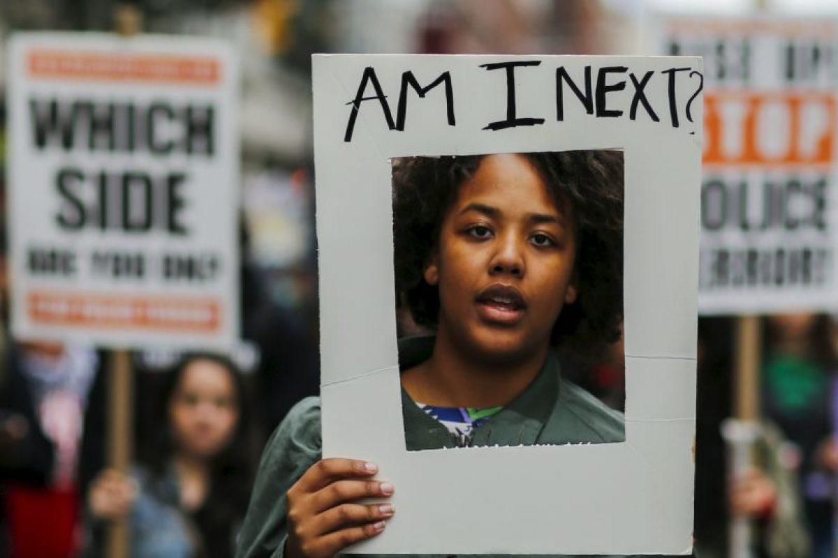 Marcha contra la brutalidad policiaca en Nueva York. Foto:AFP. Imagen Por: