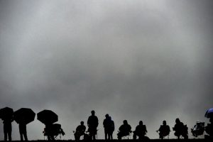 Espectadores del Gran Premio en Austin, Texas. Foto:AFP. Imagen Por: