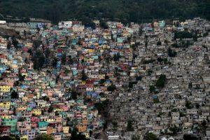 La vista de una comuna en Haití. Foto:AFP. Imagen Por: