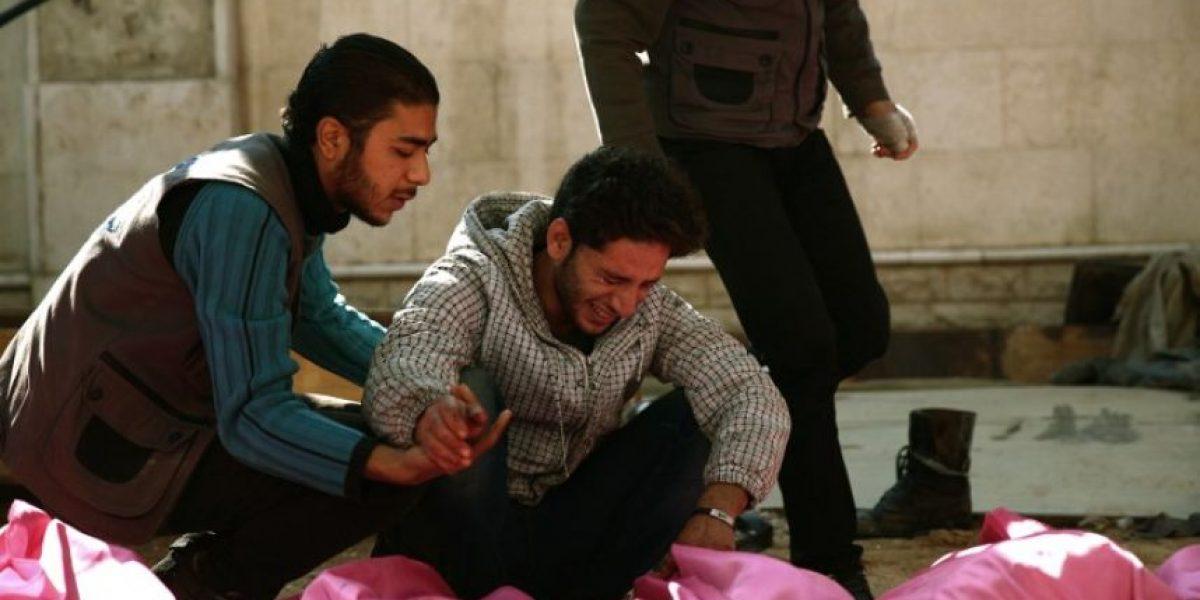 Al menos 40 muertos y 100 heridos por un ataque de Al Asad a un mercado cerca de Damasco