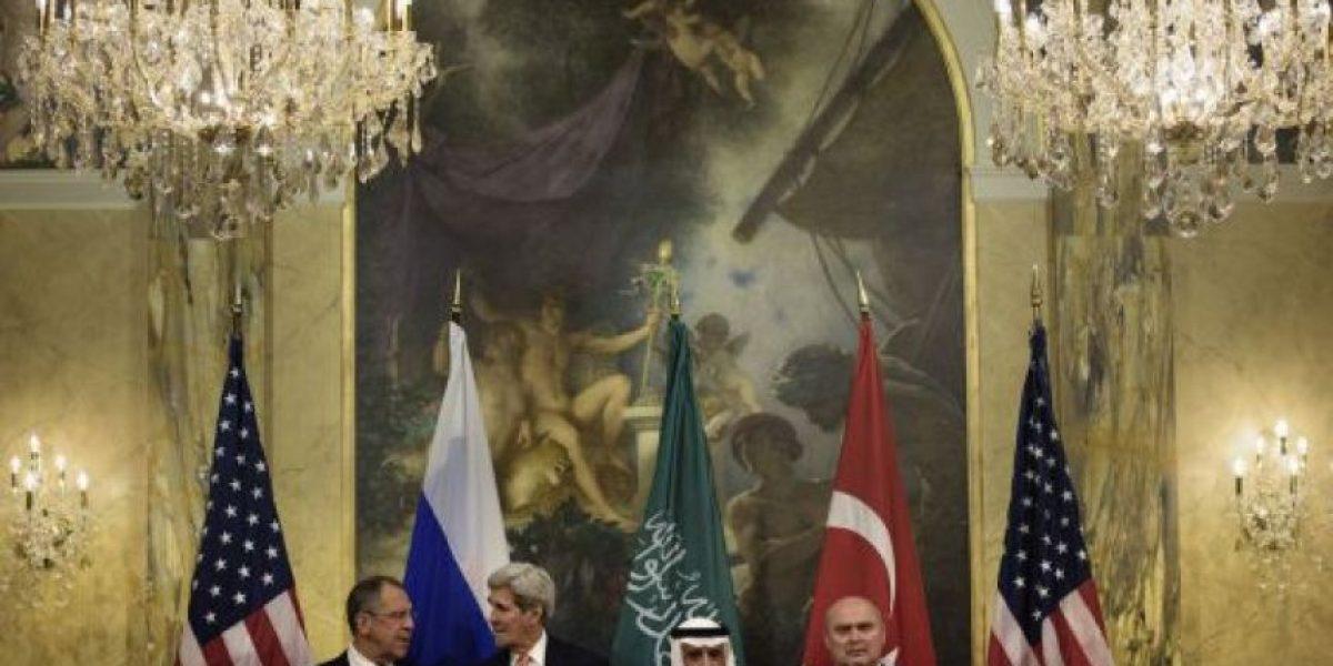 Cinco grandes potencias negocian una salida política a la guerra siria