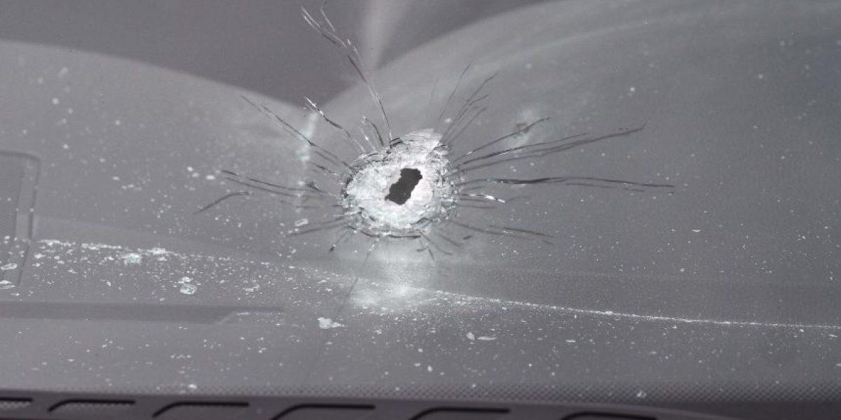 Conductor es baleado en Quilicura: recibió al menos 20 disparos
