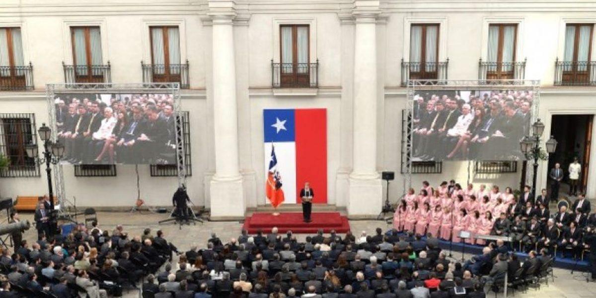 Bachelet asistió a la celebración del Día de las Iglesias Evangélicas y Protestantes de Chile