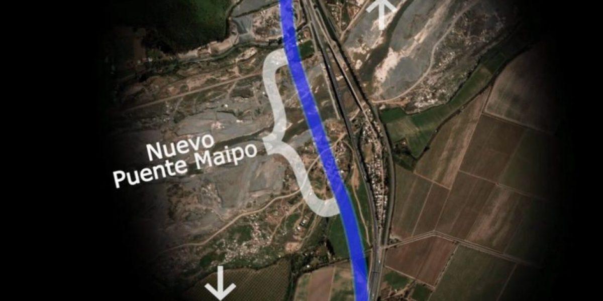 Puente Maipo: Así será el nuevo ingreso sur a la capital