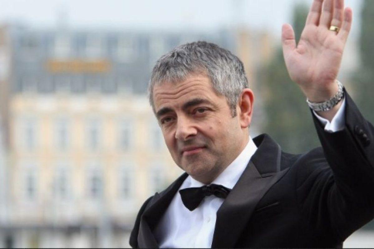 """1. Rowan Atkinson, conocido por su personaje de """"Mr. Bean"""" Foto:Getty Images. Imagen Por:"""