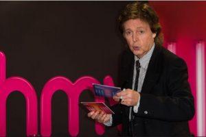 Sintió la presencia de John Lennon Foto:Getty Images. Imagen Por: