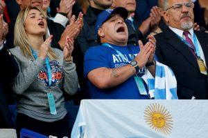 Estuvo presente en el Mundial de Rugby que se lleva a cabo en Gran Bretaña Foto:Getty Images. Imagen Por: