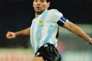 Cuatro años después reapareció en Italia 1990. Pero ahi él y Argentina perdieron la final ante Alemania. Foto:Getty Images. Imagen Por: