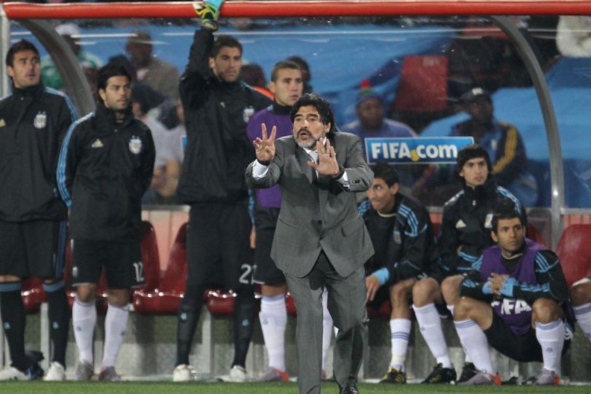 En 2008 regresó a la Selección de Argentina… pero como entrenador. Foto:Getty Images. Imagen Por: