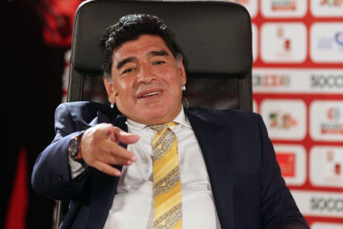 Tras el Mundial, Maradona dejó el puesto de seleccionador nacional. Foto:Getty Images. Imagen Por: