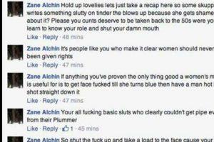 Pero sus amigas intervinieron para defenderla. Foto:vía Facebook. Imagen Por: