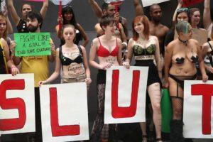 """Se creó en 2011 y en Latinoamérica se le conoce como """"La Marcha de las Putas"""". Foto:vía Getty Images. Imagen Por:"""