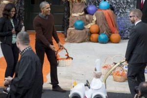 Esta fue la reacción del presidente Foto:AFP. Imagen Por: