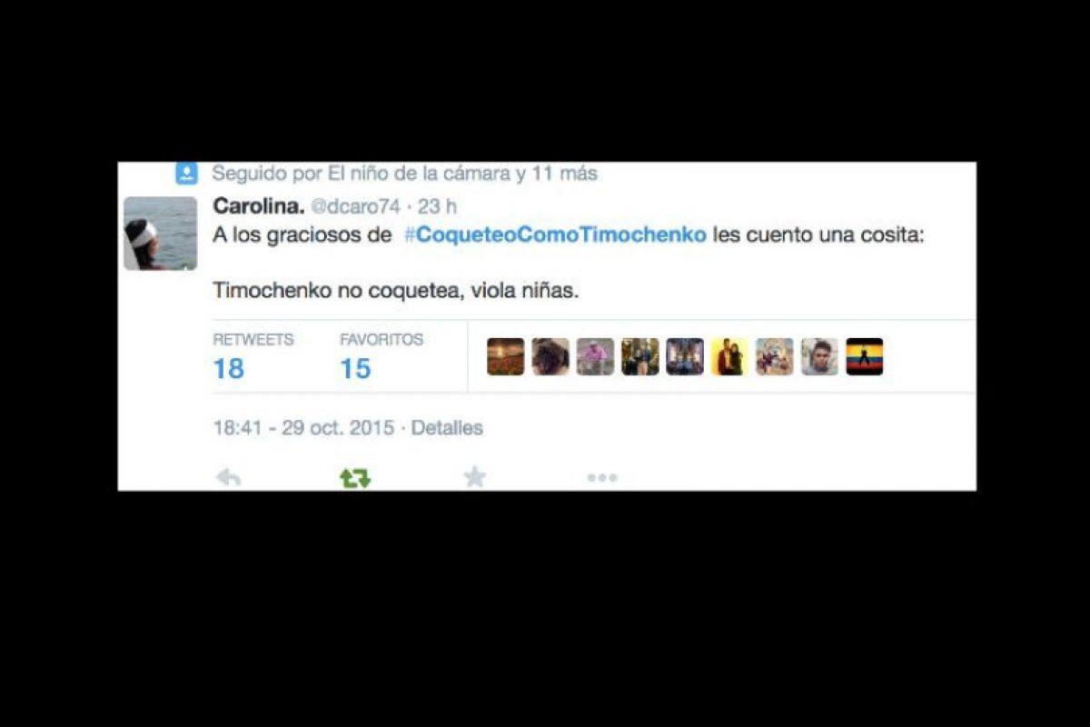 Y otros recordaron la cruel política de las FARC hacia las mujeres. Foto:vía Twitter. Imagen Por:
