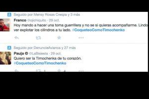 Muchos otros más le recuerdan los crímenes de las FARC. Foto:vía Twitter. Imagen Por: