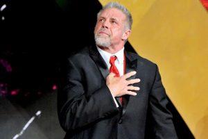 Durante su inducción al Salón de la Fama en 2014, un día antes de perder la vida Foto:WWE. Imagen Por: