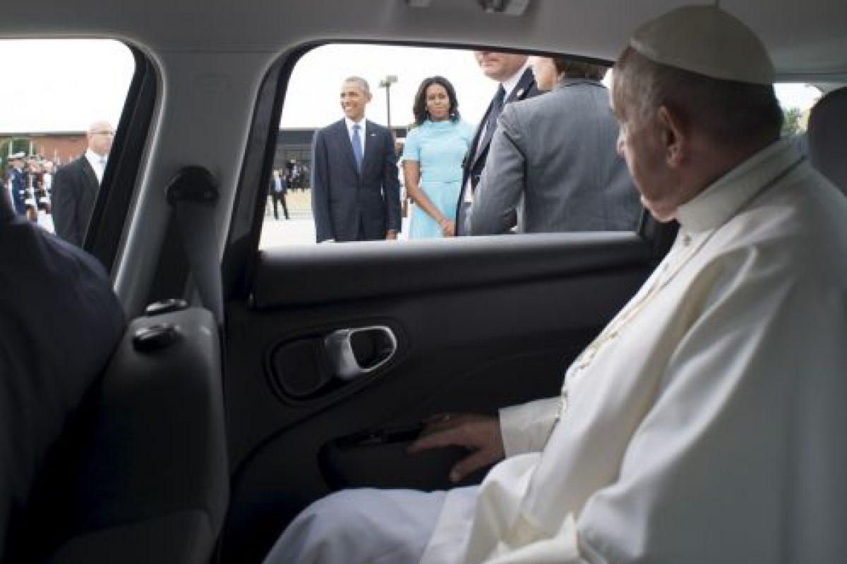 El mandatario llegó a Estados Unidos proveniente de Cuba Foto:Getty Images. Imagen Por: