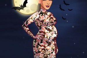 Kim Kardashian celebró un look embarazada para noche de brujas. Foto:Instagram.com. Imagen Por: