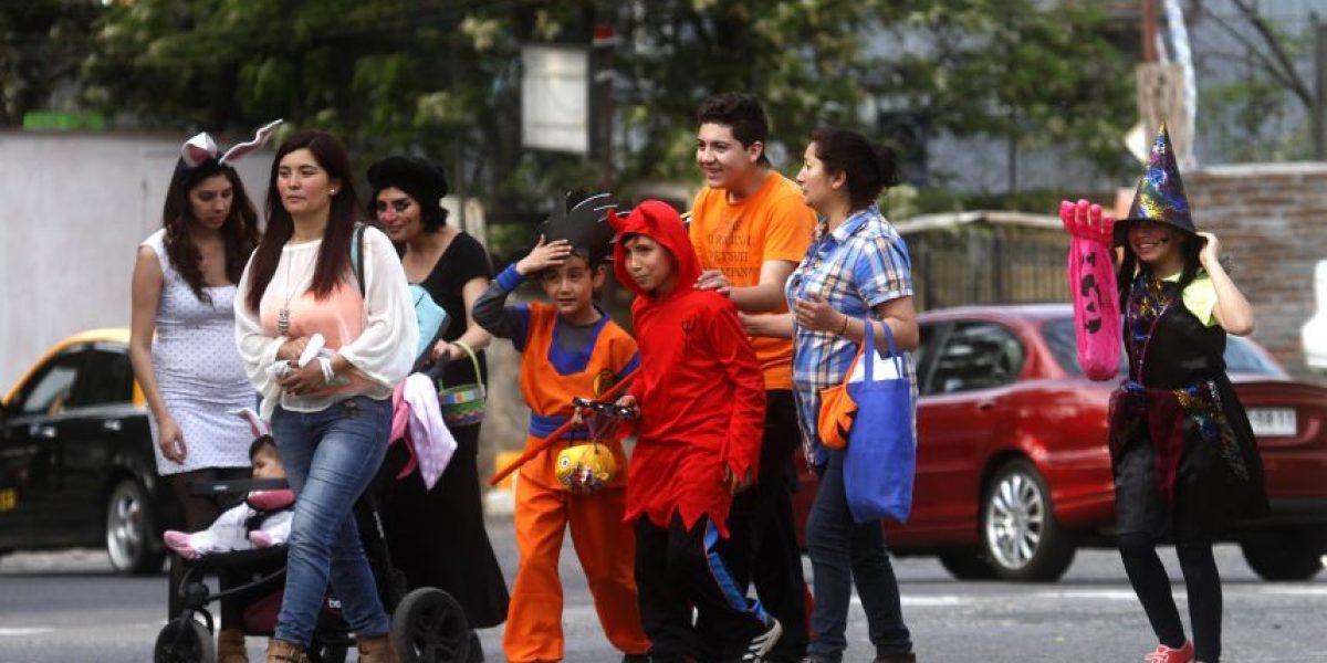 Halloween en Chile: así los niños disfrutaron los dulces y travesuras